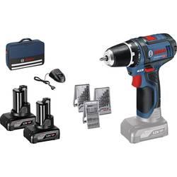 Aku vŕtací skrutkovač Bosch Professional GSR 12V-15 0615990HV1, 12 V, 4 Ah, Li-Ion akumulátor