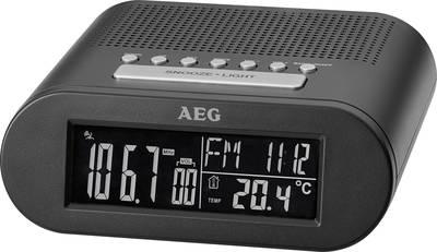 FM Radiosveglia AEG MRC 4145 F FM Nero
