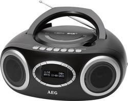 DAB+ CD rádio AEG SR 4370, DAB+, FM, USB, CD, černá