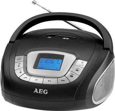 FM Radio portatile AEG SR 4373 SD, USB, FM, AUX Nero