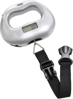 Váha na cestovní zavazdla ADE KW 901 Maxi, max. váživost 55 kg, rozlišení 100 g, stříbrnoče