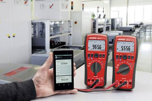 Hand-Multimeter digital Benning MM 12 Kalibriert nach: ISO Datenlogger CAT IV 600 V, CAT III 1000 V Anzeige (Counts): 40