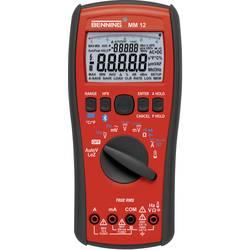 Digitálne/y ručný multimeter Benning MM 12 044088-ISO, kalibrácia podľa (ISO), datalogger
