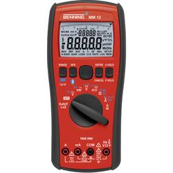 Digitálne/y ručný multimeter Benning MM 12 44088-ISO, kalibrácia podľa (ISO), datalogger