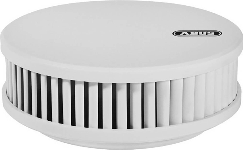 ABUS RWM250 Rauch- und Hitzemelder inkl. 12 Jahres-Batterie, inkl. Magnetbefestigung batteriebetrieben