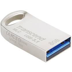 USB flash disk Transcend JetFlash® 720S MLC TS8GJF720S, 8 GB, USB 3.1, strieborná