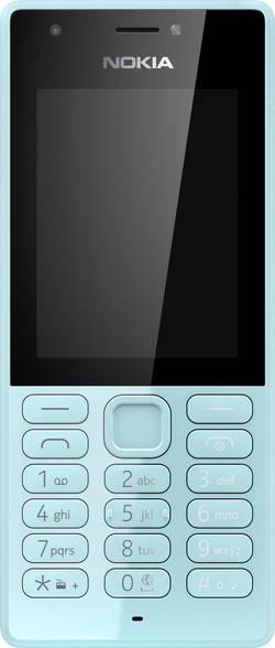 Nokia 216 mobilní telefon Dual SIM modrá