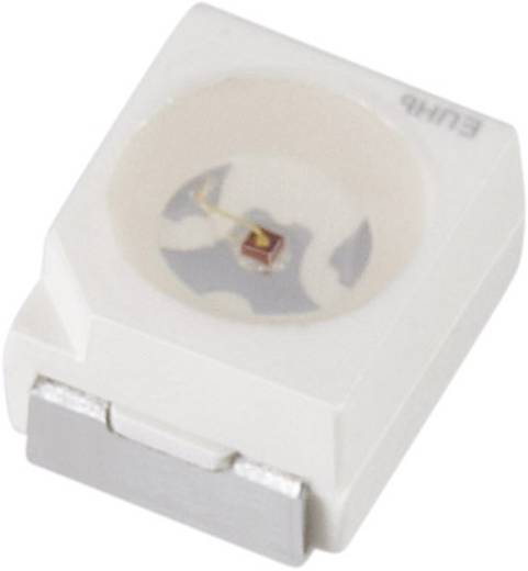 SMD-LED PLCC2 Grün 1 mcd 120 ° 2 mA 1.9 V OSRAM LG T679-CO
