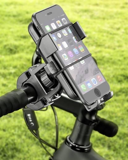 basetech handyhalterung fahrrad passend f r universal. Black Bedroom Furniture Sets. Home Design Ideas
