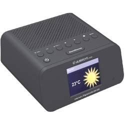 Internetové, DAB, FM rádio s budíkem Albrecht DR 450, Wi-Fi, UKW, černá