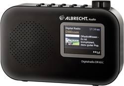 DAB+ přenosné rádio Albrecht DR 65 C, DAB+, FM, černá
