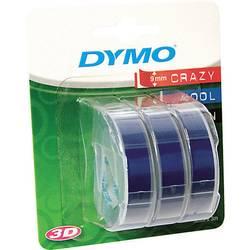 Páska do štítkovače DYMO S0847740, 9 mm, 3 m, bílá, modrá