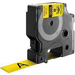 Teplom zmršťovacie trubice DYMO 18058, 19 mm, 1.5 m, čierna, žltá