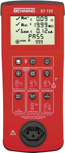 Gerätetester Benning ST 725 CH