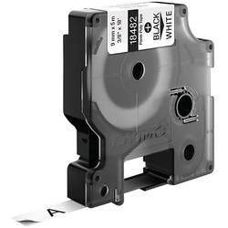 Páska do štítkovače DYMO 18482, 9 mm, 5.5 m, černá, bílá