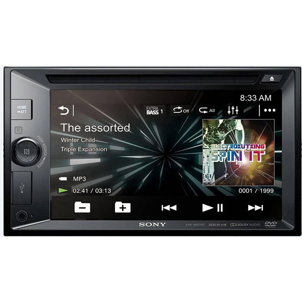 Sony XAVW651BT.EUR Doppel-DIN Moniceiver Bluetooth ...