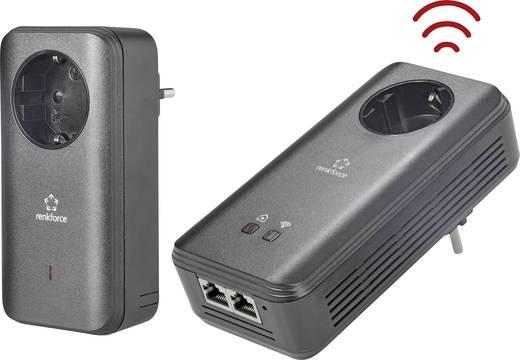Powerline WLAN Starter Kit 1.2 Gbit/s Renkforce PL1200D WiFi
