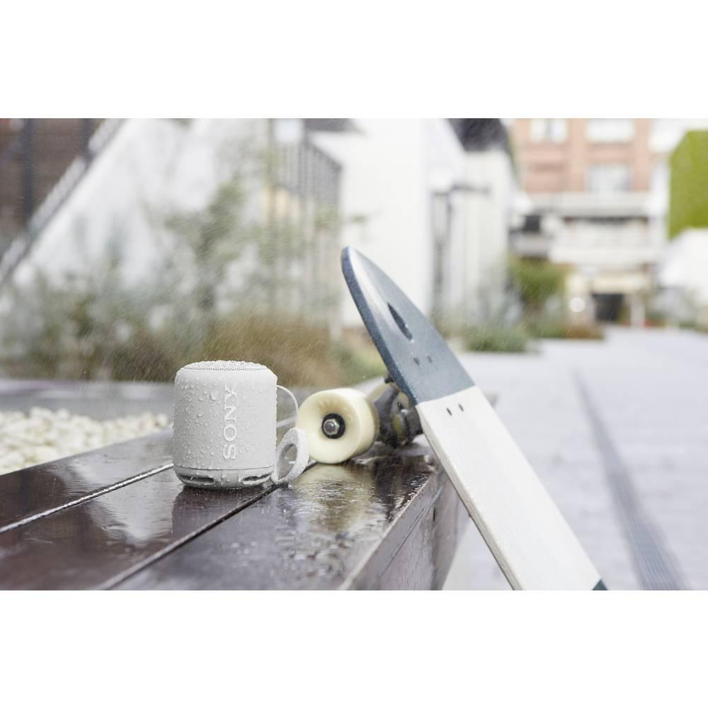 bluetooth lautsprecher sony srs xb10 aux spritzwassergesch tzt nfc wei im conrad online shop. Black Bedroom Furniture Sets. Home Design Ideas
