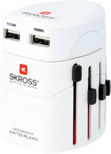 Reiseadapter Adaptateur World EVO USB Skross 1.302101