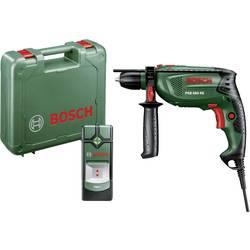 Bosch Home and Garden PSB 680 RE + PMD 7 1cestný-příklepová vrtačka 680 W kufřík, vč. vyhledávače vedení