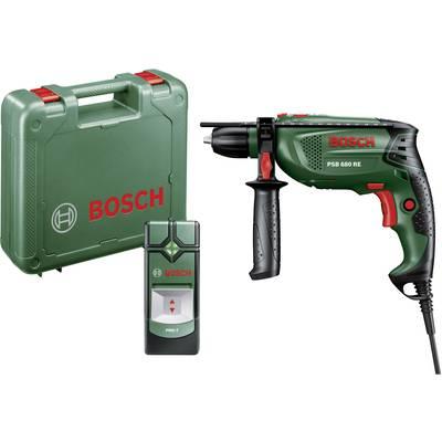 Bosch Home and Garden PSB 680 RE + PMD 7 1-Gang-Schlagbohrmaschine 680 W inkl. Koffer, ink Preisvergleich