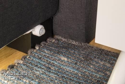 m ller licht led streifen komplettset mit bewegungsmelder mit stecker 230 v 150 cm warm wei. Black Bedroom Furniture Sets. Home Design Ideas