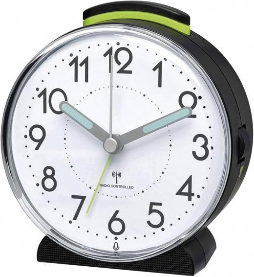 Wecker ohne zeiger  Funk Wecker TFA 60.1515 Schwarz Alarmzeiten 1 Fluoreszierend ...