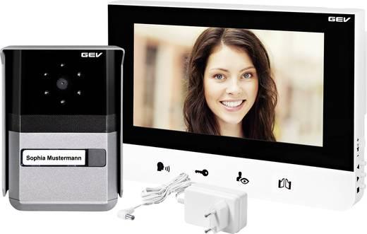 gev 88665 video t rsprechanlage kabelgebunden komplett set 1 familienhaus schwarz wei. Black Bedroom Furniture Sets. Home Design Ideas