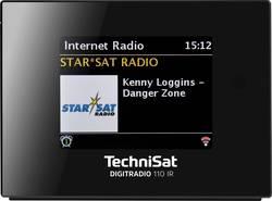 Internetové, DAB+, FM rádio s výstupem bez reproduktoru TechniSat DIGITRADIO 110 IR, Wi-Fi, černá