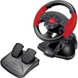 Volant Esperanza EG103 USB PC, PlayStation 2, PlayStation 3 černá, červená vč. pedálů