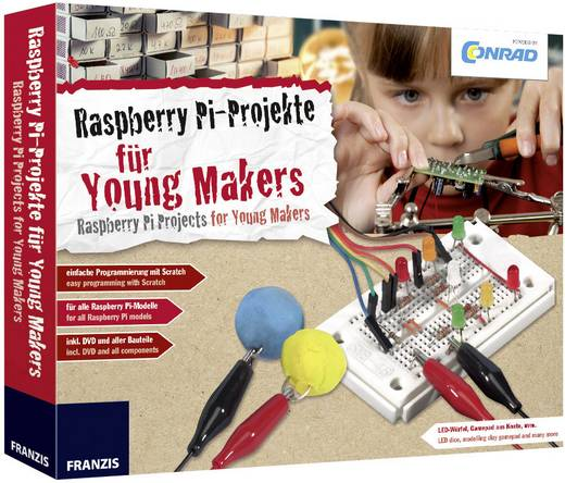 Maker Kit Conrad Components Conrad Raspberry Pi für Young Makers 10222 ab 14 Jahre