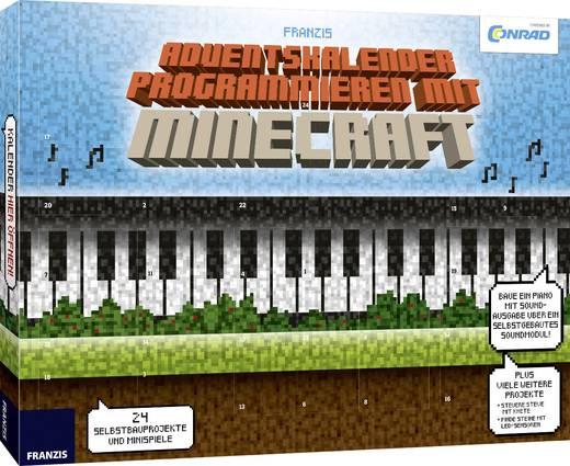 Adventskalender Conrad Components Programmieren mit Minecraft 2017 Experimente ab 14 Jahre