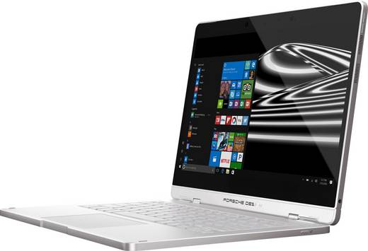 Porsche Design BOOK ONE Windows®-Tablet / 2-in-1 33.8 cm (13.3 Zoll) 512 GB WiFi Silber Intel Core i7 2.7 GHz Dual Core
