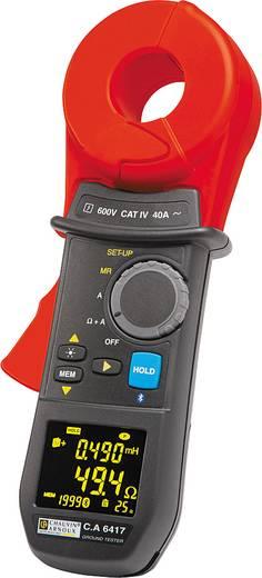 Erdungsmessgerät Chauvin Arnoux Set C.A 6417 + CL1 + tablette Kalibriert nach Werksstandard (ohne Zertifikat)