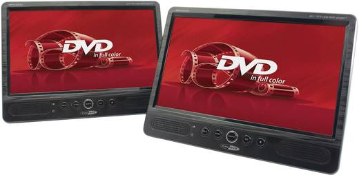 Kopfstützen DVD-Player mit 2 Monitoren Caliber Audio Technology MPD-2010T Bilddiagonale=25.4 cm (10 Zoll)