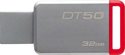 Kingston DT50 USB-Stick 32 GB Silber-Rot DT50/32GB USB 3.1