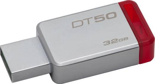 USB-Stick 32 GB Kingston DT50 Silber-Rot DT50/32GB USB 3.1