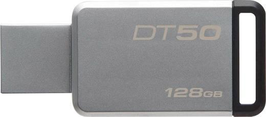 USB-Stick 128 GB Kingston DT50 Silber-Schwarz DT50/128GB USB 3.1