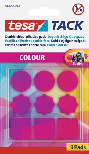 tesa tack doppelseitige klebepads pink tesa inhalt 1. Black Bedroom Furniture Sets. Home Design Ideas