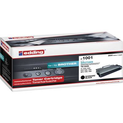 Edding Toner ersetzt Brother TN-2210, TN-2220 Kompatibel Schwarz 2600 Seiten EDD-1001 Preisvergleich