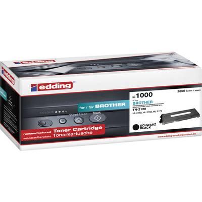 Edding Toner ersetzt Brother TN-2120 Kompatibel Schwarz 2600 Seiten EDD-1000 Preisvergleich