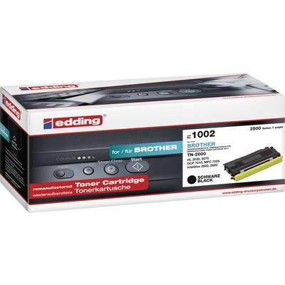 Edding Toner ersetzt Brother TN-2000 Kompatibel Schwarz 2500 Seiten EDD-1002 Preisvergleich
