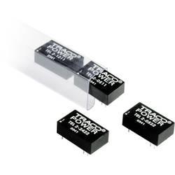 DC/DC měnič TracoPower TEL 2-1222, vstup 9 - 18 V/DC, výstup ±12 V/DC, ±83 mA, 2 W, DIL16
