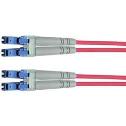 Optické vlákno LWL prepojovací kábel Telegärtner L00871A0026 [1x zástrčka LC - 1x zástrčka LC], 2.00 m, žltá
