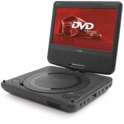 caliber audio technology mpd107 kopfst tzen dvd player mit monitor bilddiagonale cm 7. Black Bedroom Furniture Sets. Home Design Ideas