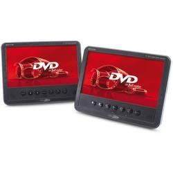 DVD prehrávač do opierok hlavy, 2x LCD Caliber Audio Technology MPD278T