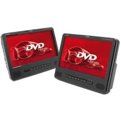DVD prehrávač do opierok hlavy, 2x LCD Caliber Audio Technology MPD298