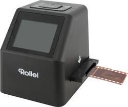 Skener diapozitivů, skener negativů displej, se zásuvkou pro paměťová média, pro film Super 8, kapesní filmy, TV výstup, s USB napájením, Rollei DF-S 315 SE, N/A