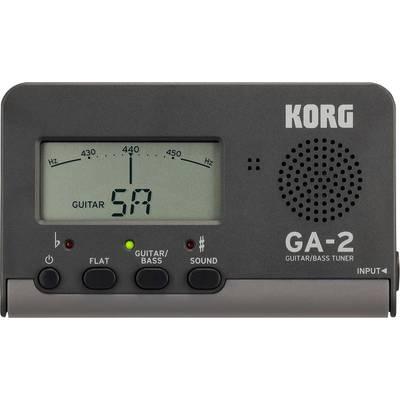 Gitarrenstimmgerät KORG GA2 Schwarz Preisvergleich