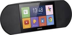 Multimediální internetové rádio s dotykovým displejem Lenco Diverso-700GY, Wi-Fi, Android, černá